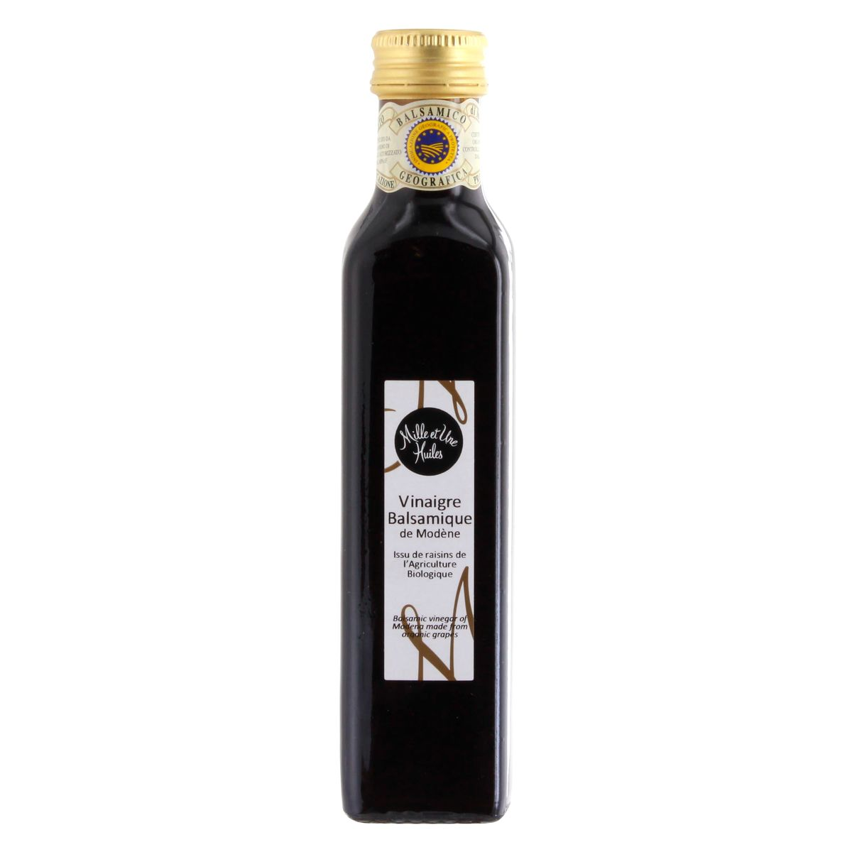 Vinaigre balsamique de Modene - Mille et une Huiles