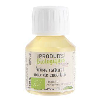 Arôme alimentaire bio noix de coco 58 ml  - Trésors de Chefs