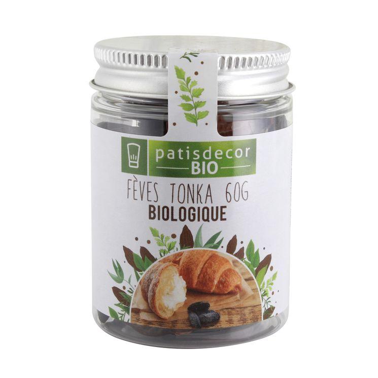 Fèves tonka bio 60gr - Patisdecorbio