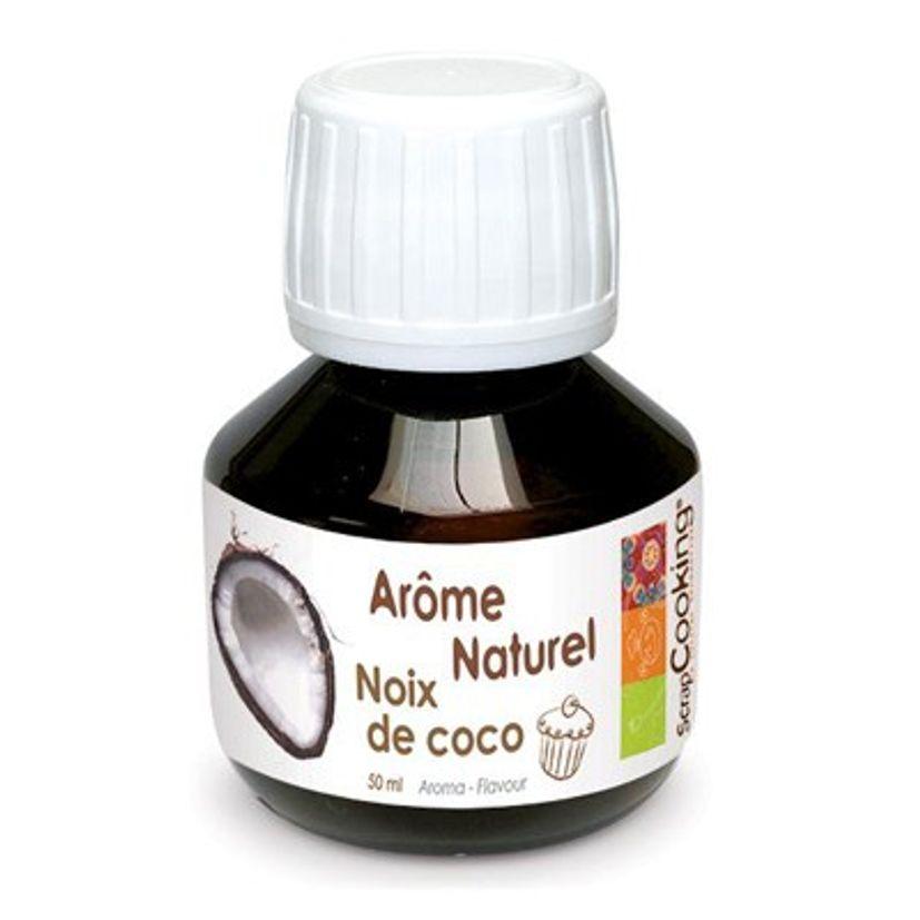 AROME NATUREL DE NOIX DE COCO 50ML - SCRAPCOOKING
