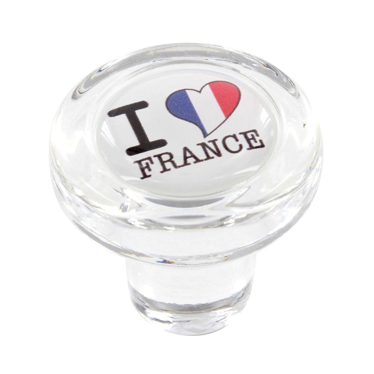 Bouchon en verre i love france - Cevenpack