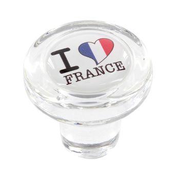 Achat en ligne Bouchon en verre i love france - Cevenpack