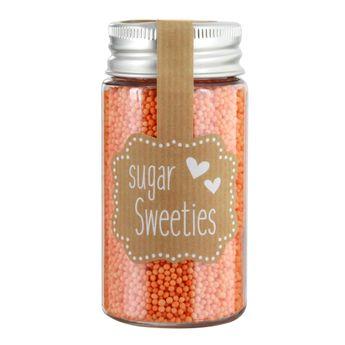 Petites perles en sucre oranges - Birkmann