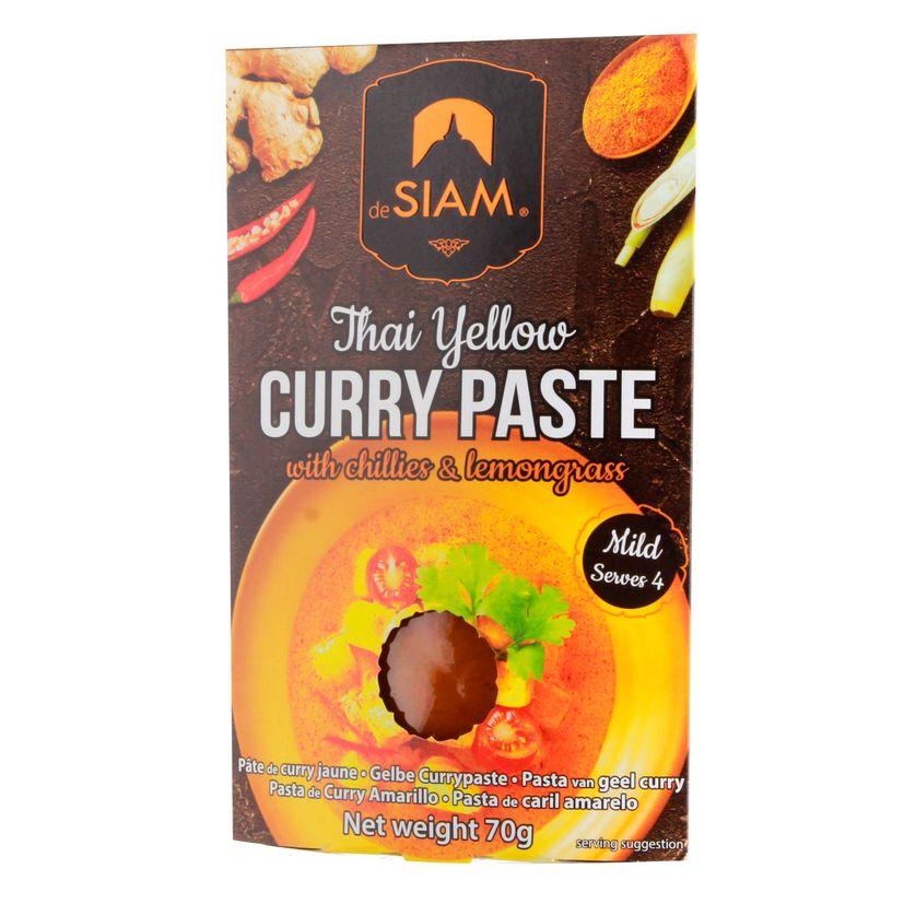 Pâte de curry jaune - De Siam