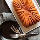 Moule rectangulaire Fluted Loaf Pan en fonte d´aluminium - Nordic Ware