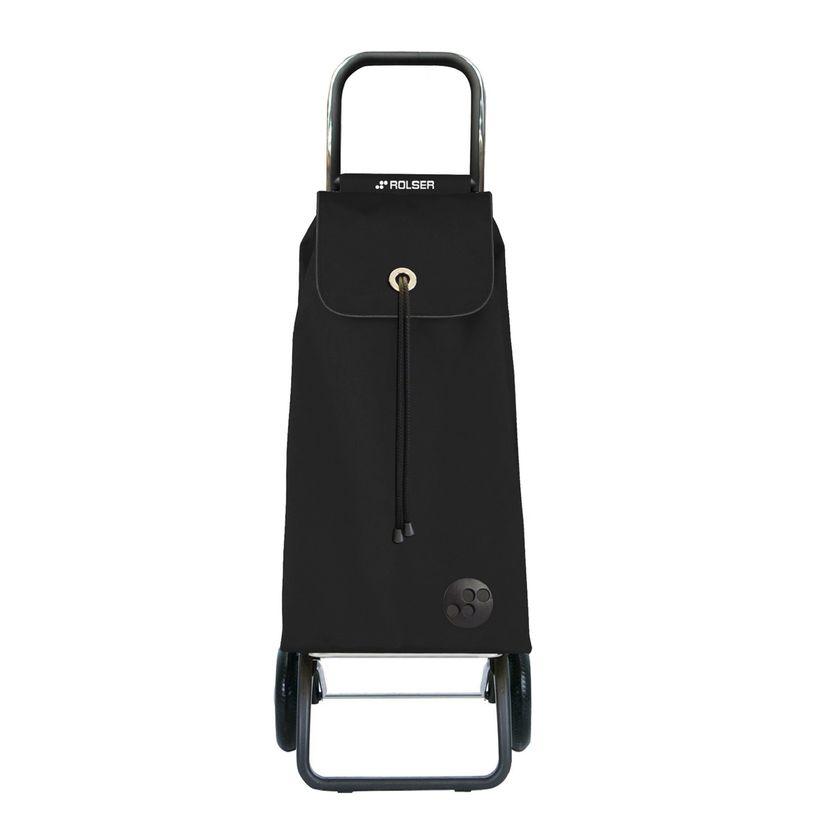 Chariot de courses de marche pliable 2 roues mf logic noir - Rolser