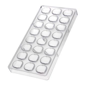Achat en ligne Moule en copolyester pour chocolats 24 empreintes escargot - Matfer