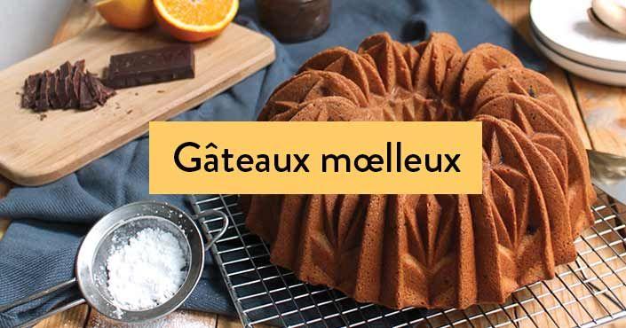 Les recettes des gâteaux moelleux