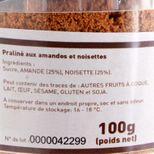Pot de poudre de praliné 100 gr - Trésors de chefs