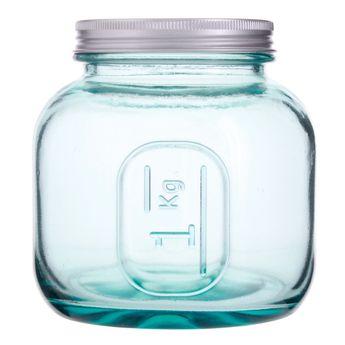 Bocal en verre recyclé 1 kg - Vidrios