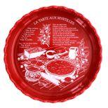 Tourtière myrtille rouge 30cm - Table & Cook