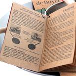 Set crepiere Mineral B bois + Blinis + Spatule - De Buyer