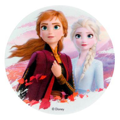 Disque En Azyme Reine Des Neiges 2 Anna Et Elsa 20 Cm Dekora Alice Delice