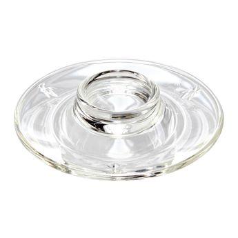 Coquetier assiette en verre abeilles - La Rochère