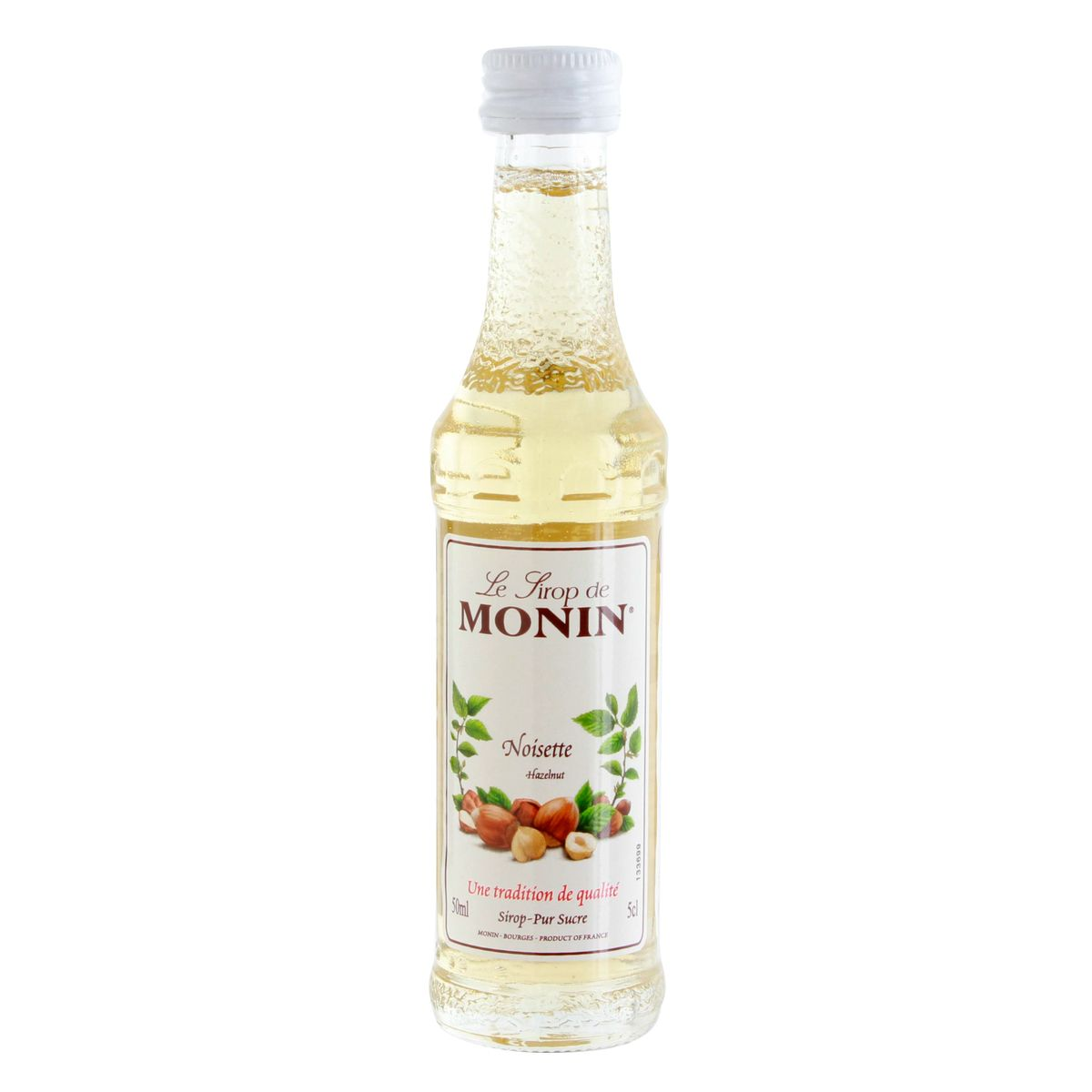 Mignonette sirop - noisette 5cl - Monin