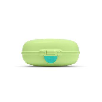 Achat en ligne Boite à goûter MB Gram vert pomme 600 ml 7 x 14.8 x 11.4 cm - Monbento