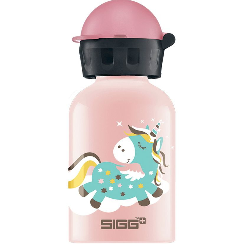 Petite bouteille licorne rose 30 cl 15.2 x 6.6 cm - Sigg
