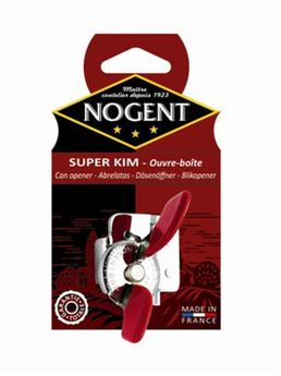 Ouvre-boites super-kim rouge - Nogent