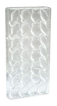 Achat en ligne Moule rigide pour chocolats fritures 11 x 20 cm - Scrapcooking