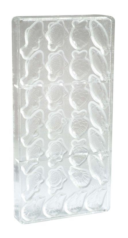 Moule rigide pour chocolats fritures 11 x 20 cm - Scrapcooking