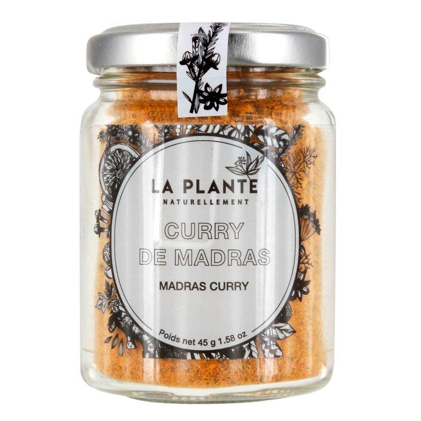 Curry de madras BIO 45g - La Plante
