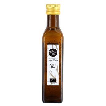 Huile olive bio aux cepes - Mille et une Huiles