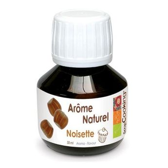 AROME NATUREL DE NOISETTE 50ML - SCRAPCOOKING