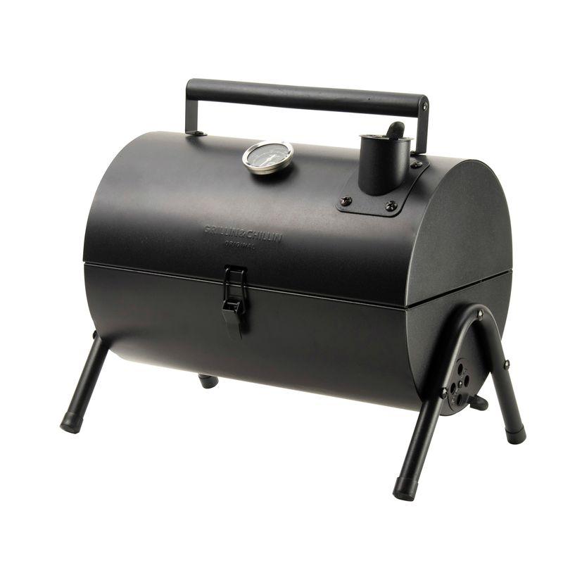 Barbecue fumoir noir de table - Gusta