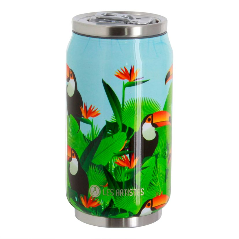 Canette isotherme Pull Can´it Toucan 280 ml - Les Artistes