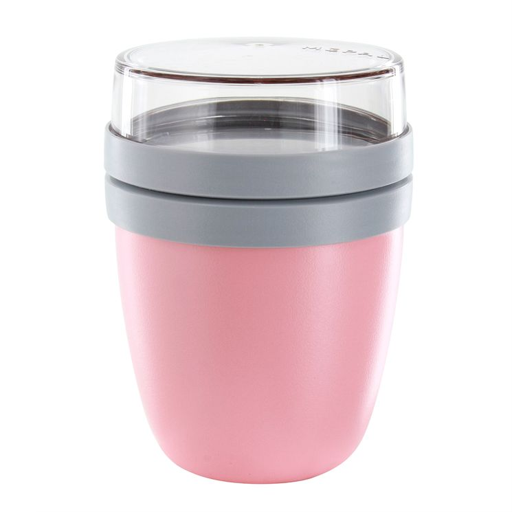 Mini pot à déjeuner rose - Mepal