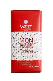 Achat en ligne Tablette Pain d´epices 100gr - Weiss