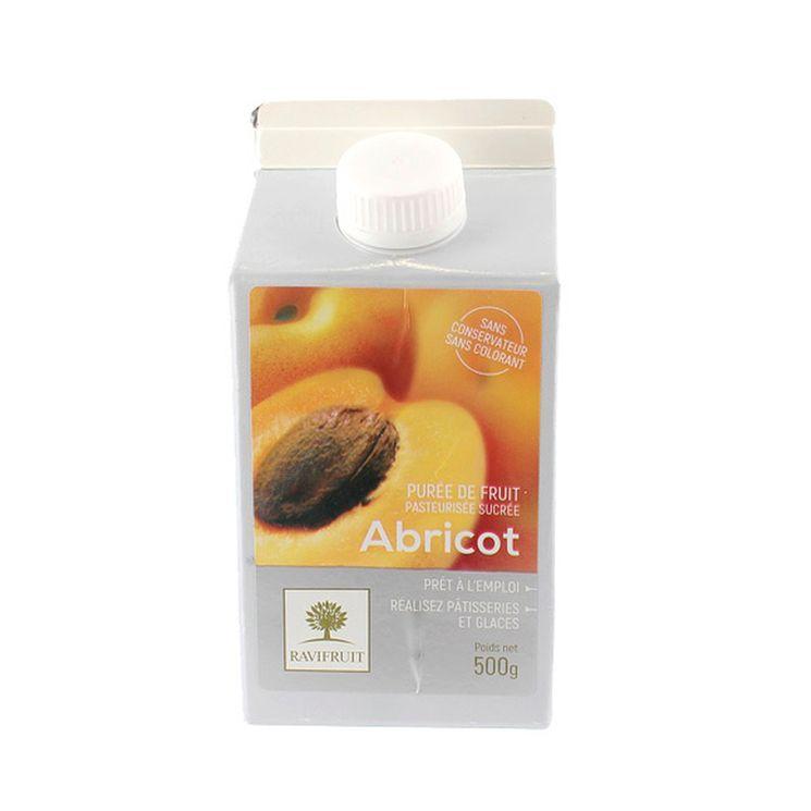 Purée d´abricot 500 ml - Ravifruit