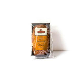 Achat en ligne Pain d´épice pur miel Orange confite 65g Mulot Petit jean