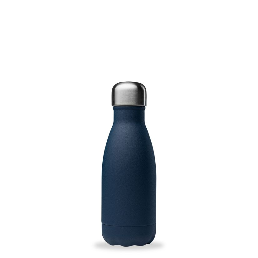 Bouteille isotherme inox 260ml bleu nuit - Qwetch