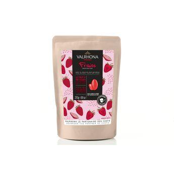 Achat en ligne Chocolat à pâtisser inspiration fraise 250g - Valrhona