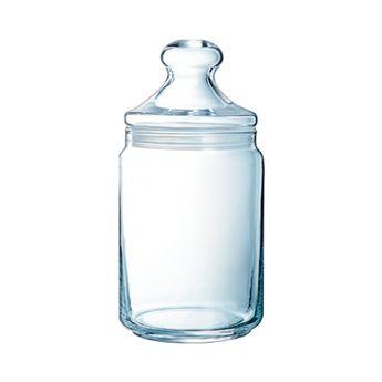 Achat en ligne Bonbonnière en verre 1,5L 10cmx10cmx26cm - Luminarc
