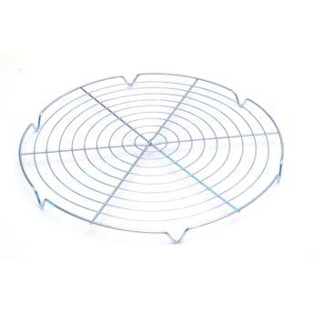 Achat en ligne Grille de refroidissement ronde en métal chrome 30 cm - Roger Orfevre