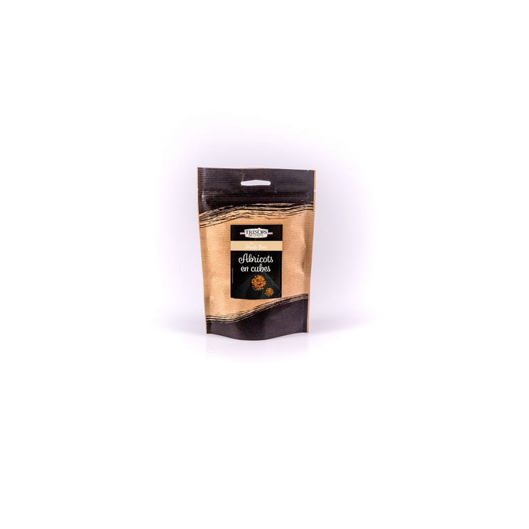 Cubes d´abricots 250 gr - Trésors de Chefs