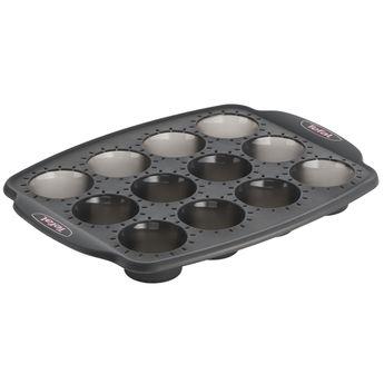 Achat en ligne Moule 12 mini muffins en silicone pour machine Cake Factory KD802112 - Tefal