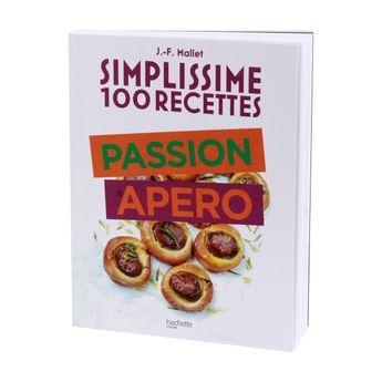 Achat en ligne Simplissime 100 recettes passion apero - Hachette Pratique