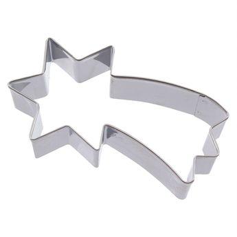 Achat en ligne Emporte-pièce en inox étoile filante 8 cm - Alice Délice