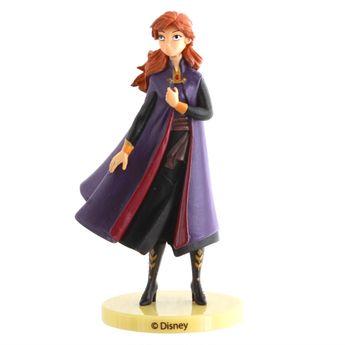 Achat en ligne Décor de gâteau : Figurine en plastique Reine des neiges 2 : Anna 9 cm - Dekora