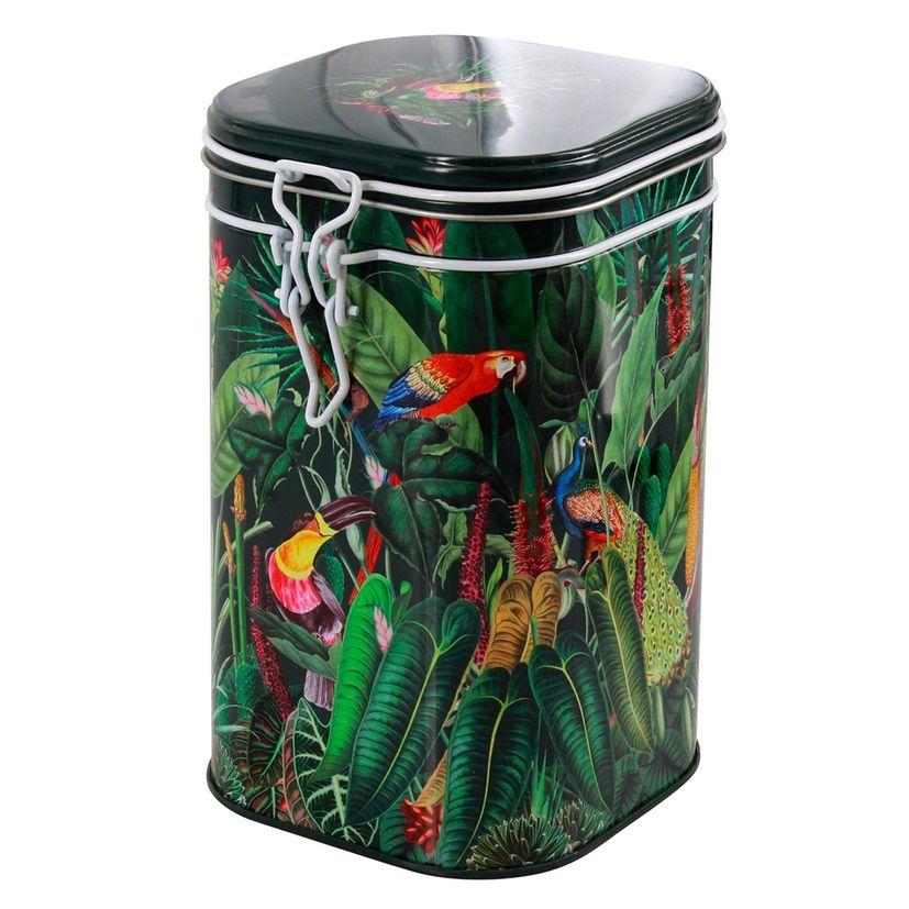 Boîte à thé en métal Rainforest 250gr - Eigenart