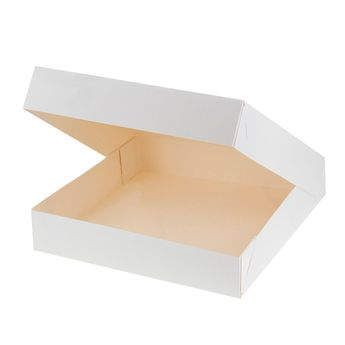 Achat en ligne Boite à gâteaux blanche 26 x 26 x 5 cm - Patisdecor