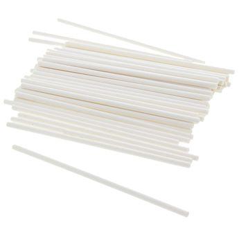 Achat en ligne 50 batons de sucette et popcake en papier 10 cm - Patisdecor