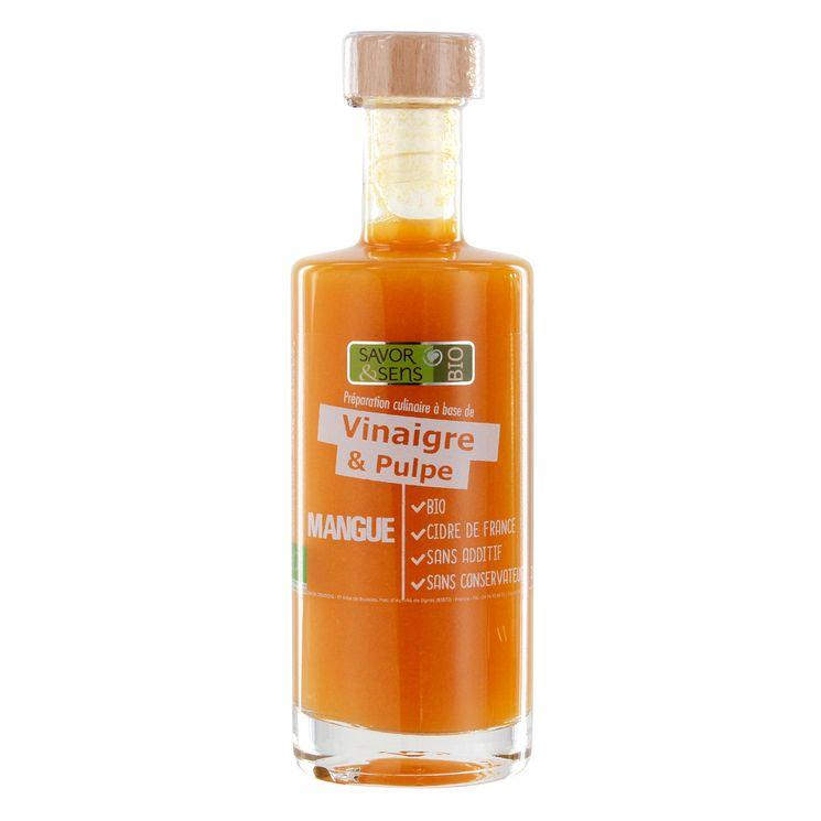 Vinaigre pulpe de mangue 25cl - Savor et Sens