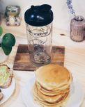 Shaker à crêpes, gaufres et pancakes - Cookut