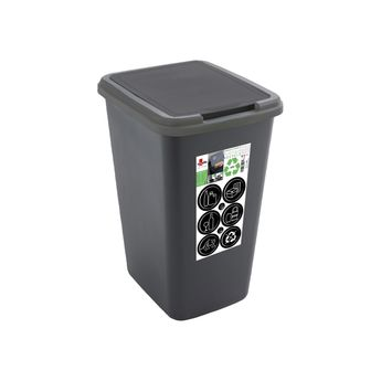 Achat en ligne Poubelle en plastique recyclé 50L - Sundis