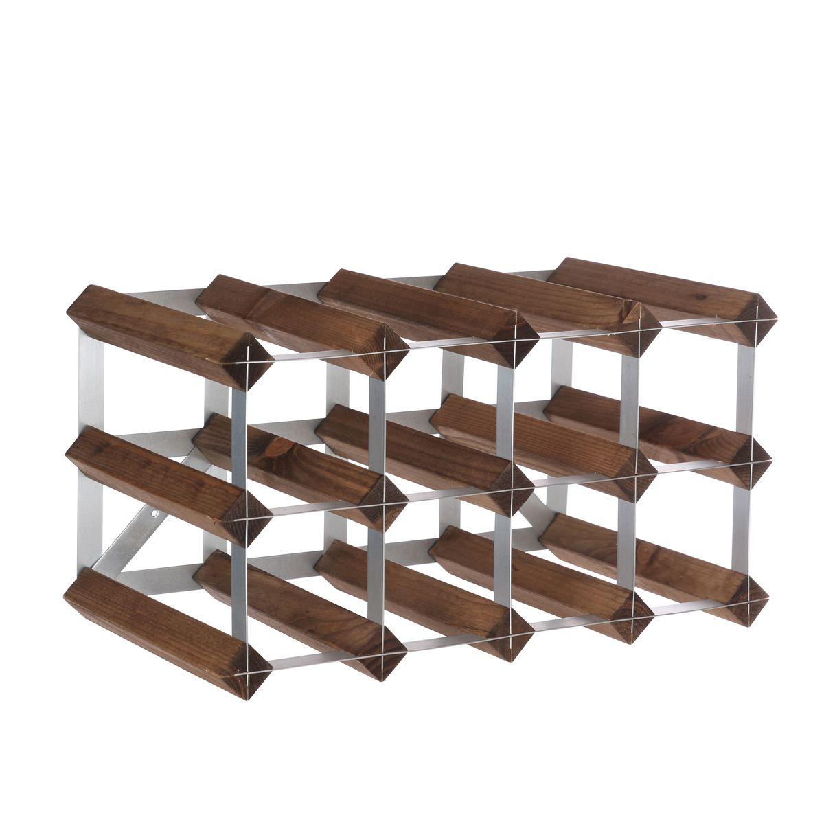 Range bouteilles en bois 12 bouteilles - Traditional Wine rack