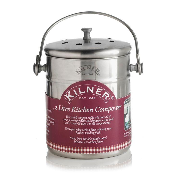 Seau à compost 2L - Kilner